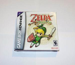 The Legend Of Zelda Minish Cap Completo En Caja !