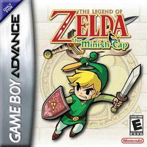 Zelda The Minish Cap Game Boy Advance