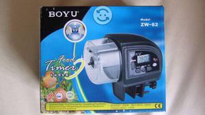 Alimentador automatico con temporizador para gatos posot for Alimentador automatico peces