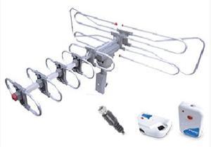 Antena Hd Aerea Giratoria Con Booster Alta Definicion
