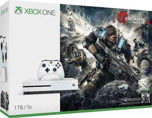 Consola Xbox One S 1tb Gears Of War 4 Bundle + 12 Msi