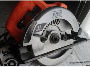 La Sierra circular Black & Decker velocidad de  rpm