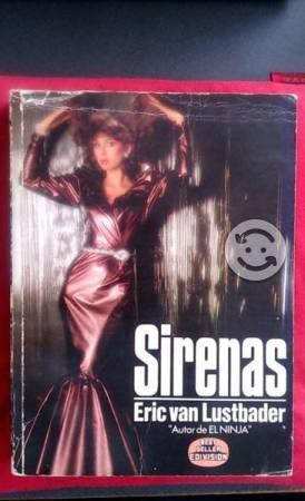 Libro Sirenas de Eric Van Lustbader