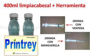 Liquido Limpiador Destapacabezal + Herramienta Envio Gratis