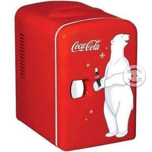 Mini Refrigerador Frigobar Coca Cola Para 6 Latas