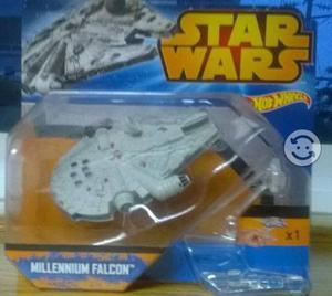 Nave Hot Wheels Halcon milenario (Star Wars)
