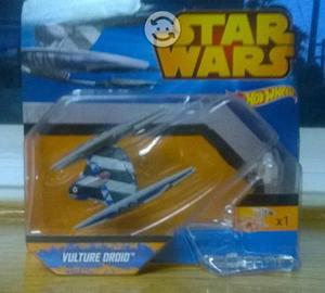 Nave Hot Wheels Vulture droid (Star wars)