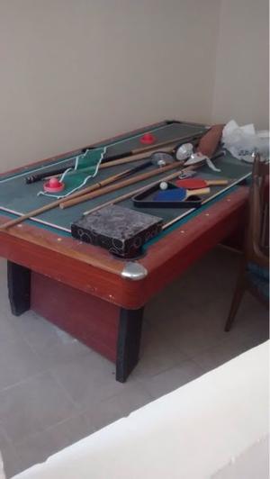 Vendo mesa de billar hockey ping pong tijuana posot class - Vendo mesa billar ...