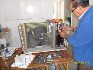 minisplit capacitacion curso condensador evaporador