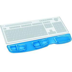 Fellowes Keyboard Palm Support With Microban Protecti -azul