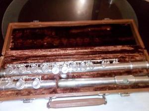 Flauta Flautin Artley Usada Buenas Condiciones Con Estuche