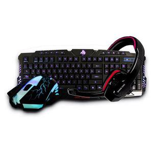 Kit Gamer Teclado Mouse Eagle Warrior G79 (g16) + Diadema