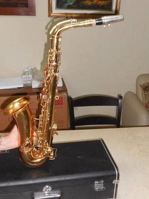 Saxofon Alto Marca C.g. Conn Ltd, Elkhart Ind Usa