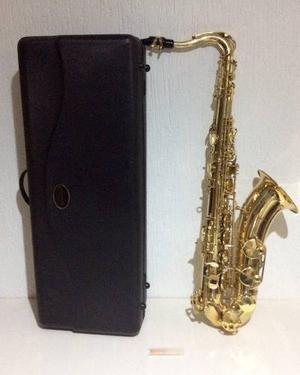 Saxofon Tenor Silvertone Con Boquilla Y Caña