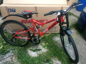 Se vende bicicleta bimex rodada 26 con 18 vel