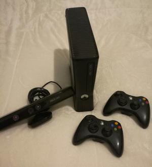 Xbox 360 Slim, 33 Juegos, Kinect, Envio Gratis