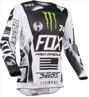 Jersey Fox 180 Monster Talla Xl Motocross Mtb Downhill Rzr