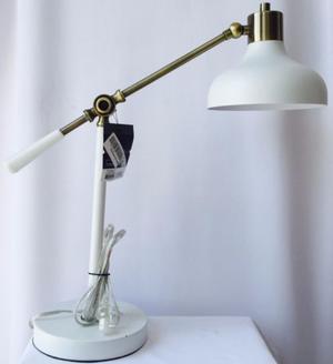 Lampara Escritorio Decorativa Vintage Mesa Minimalista