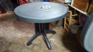 Dos mesas de plastico desarmable para jardin posot class for Mesas de jardin de plastico