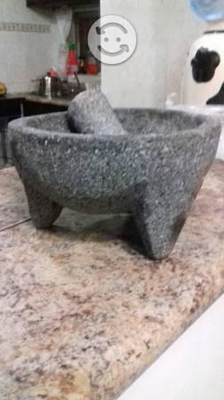 Molcajete nuevo de piedra