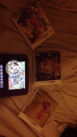 New Nintendo 3DS XL + 3 juegos físicos