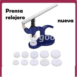Prensa Herramienta Relojero Para Cerrar Relojes A Presión