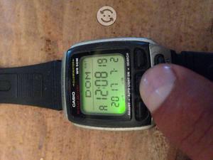 Reloj CASIO VINTAGE DB-37H DATABANK ORIGINAL RARO
