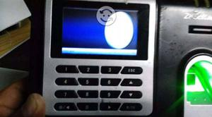 Reloj Checador Zksoftware X628c