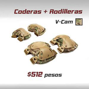 Rodilleras Coderas Tactico Escalada Gotcha Paintball Airsoft