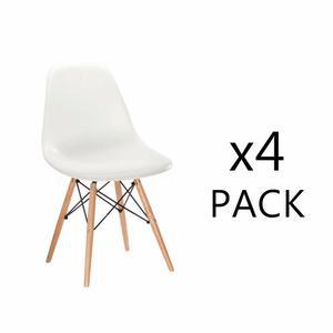 Set 4 Sillas Eames - Colores A Elegir - Promoción!
