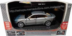 Auto Bmw 770 Ll 1/32 Diecast Metal Luz Sonidos Pull-back !!