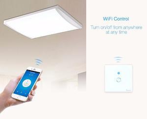 Elegante Apagador De Pared Touch Y Wifi - Sonoff Touch