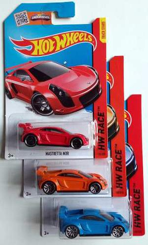 Hot Wheels Mastretta 3 Colores Auto Mexicano