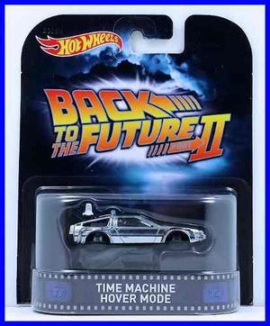 Hot Wheels Retro Volver Al Futuro Hover Maquina Del Tiempo