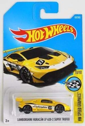 Hotwheels Lamborghini Huracan Lp  Super Trofeo