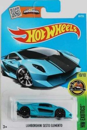 Hotwheels Lamborghini Sesto Elemento #