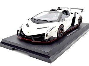 Lamborghini Veneno Roadster Blanca 1/18 Por Kyosho  Wo