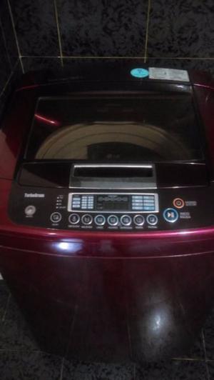 Lavadora Lg Fuzzy Logic 15 Kg Roja, Excelentes Condiciones!!