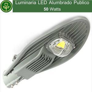 Luminaria Led 50w Lampara Foco De Alumbrado Publico