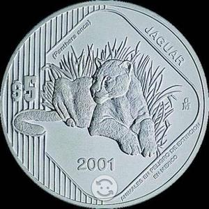 Monedas Plata Jaguar