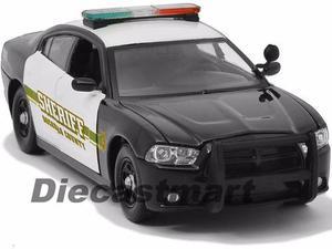 Motor Max 1:24 Interceptor Police 2 Patrullas Escojalas