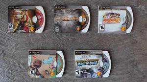 Pack De 5 Juegos Originales Para Psp Sony