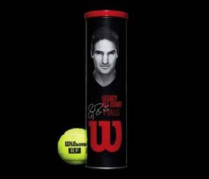 Pelotas Wilson Federer Rf Legacy Con 4 Pelotas