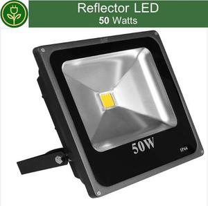 Reflector Led 50w Lampara Exterior Ip65 Ahorrador Moderno