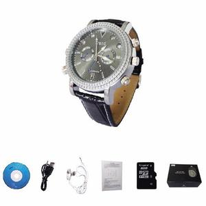 Reloj Espia 8gb Camara Oculta Hd 12mp Vision Nocturna,