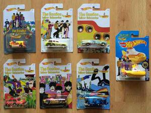 Set 6 Hot Wheels Beatles Yellow Submarine Completa 6/6 !!!