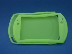 Silicon Skin Case Para Sony Psp Go Color Verde