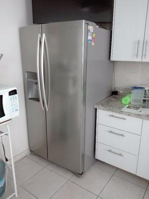 vendo Refrigerador Samsung de 25 pies duplex de acero