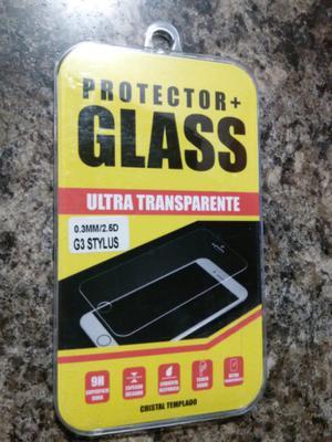 Mica de cristal templado para LG G3 Stylus.