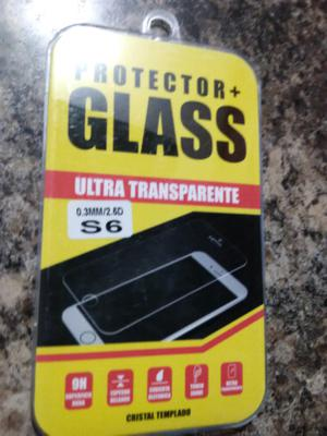 Mica de cristal templado para iPhone 6